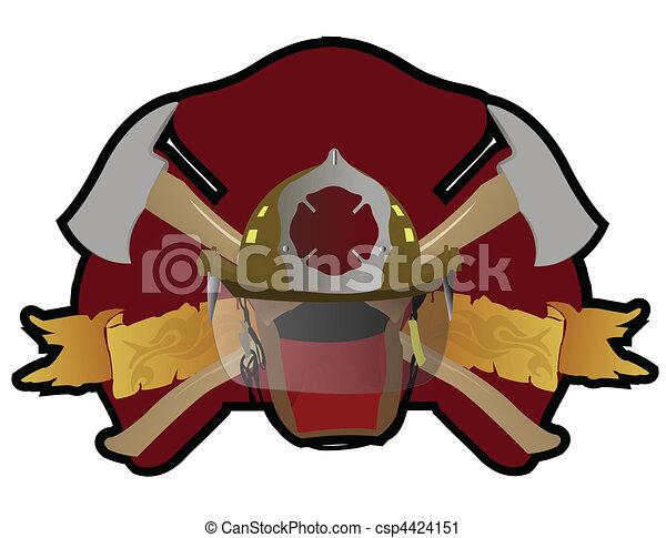 Firefighter - csp4424151
