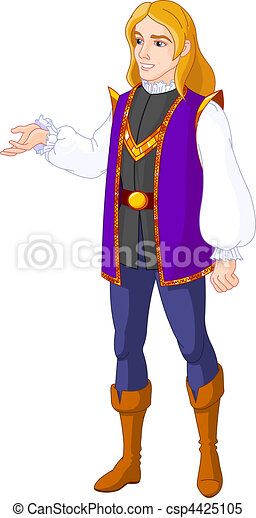 Prince charming - csp4425105