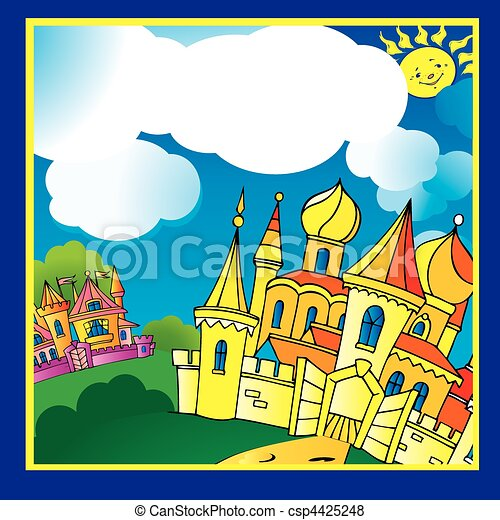 Palace. - csp4425248