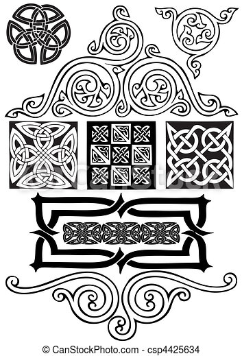 Celtic ornament. - csp4425634