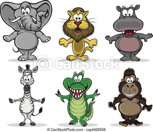 Animals of Africa - csp4426556