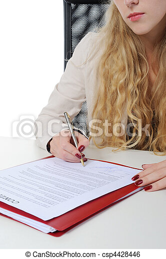 Signature of the contract