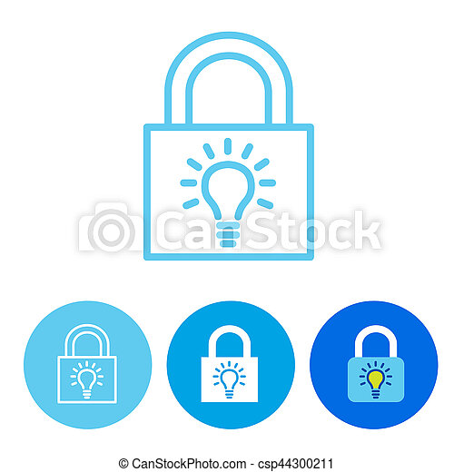 Password Hint Icon with Question Mark - csp44300211