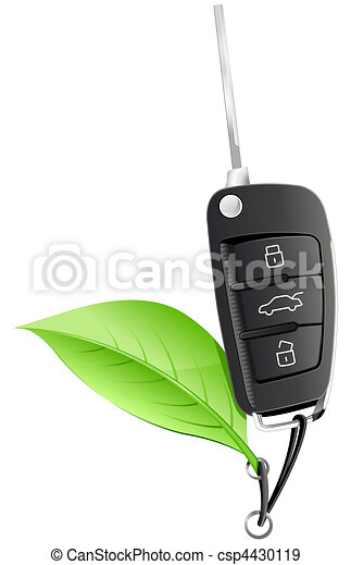 Electric Car Key - csp4430119