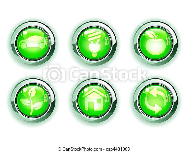 ecology icons - csp4431003