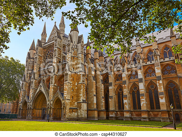 London Westminster Abbey St Margaret Church - csp44310627