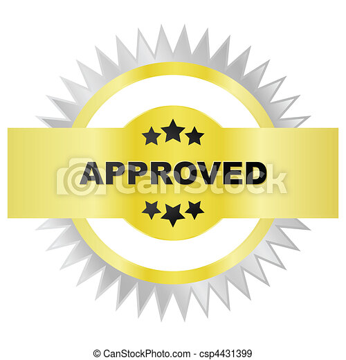 Seal of approval - csp4431399