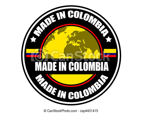 Made in Colombia - csp4431415