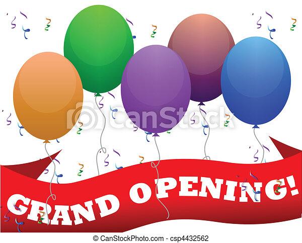 Grand Opening - csp4432562