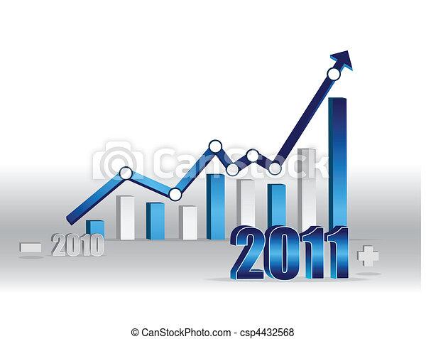 Business success - graph - csp4432568