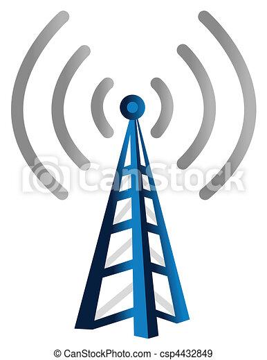 Wireless Tower - csp4432849