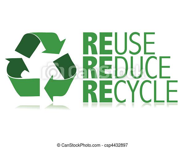 Recycle / vector - csp4432897