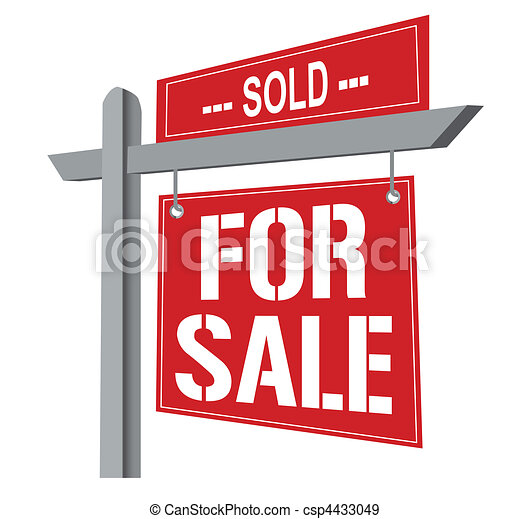 For sale Sign - csp4433049