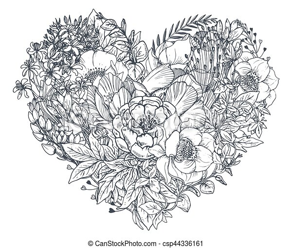 Easy Coloring Pages For Adults Roses