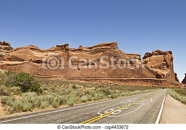 historic road 66 - csp4433672