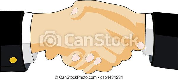 Image of Handshake - csp4434234