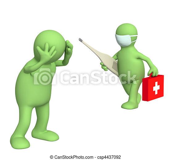 Doctor and patient - csp4437092