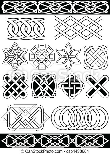 Vector celtic knots - csp4438684
