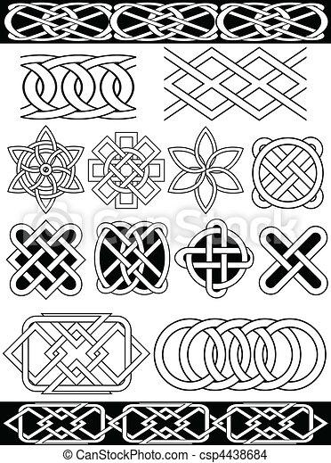 Vector celtic knots - csp4438684
