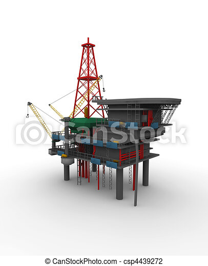 Drilling rig Illustrations and Clip Art. 3,876 Drilling rig ...