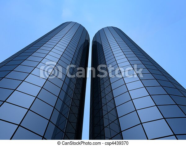 office building - csp4439370