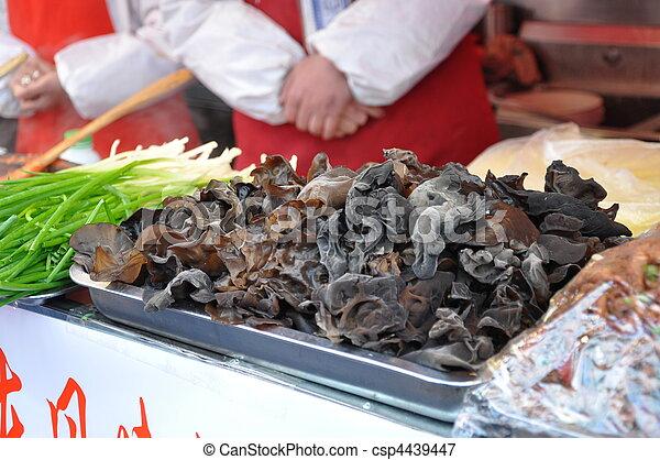 Chinese Mushrooms - csp4439447