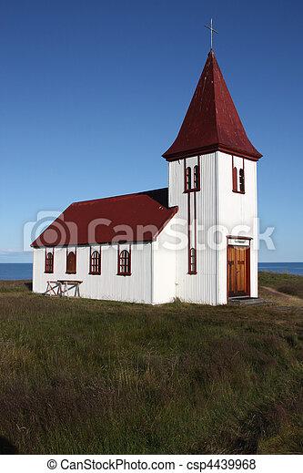 White church - csp4439968