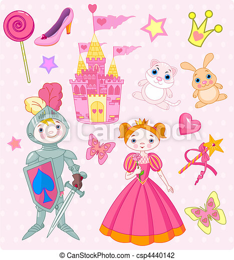 Fairy Tale Vector Elements - csp4440142