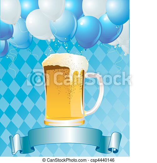 Oktoberfest Celebration Background - csp4440146