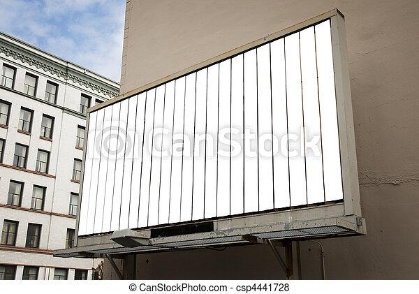Rotating Billboard - csp4441728