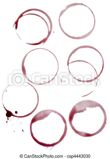 wine stains group food beverage drink alcohol - csp4443030