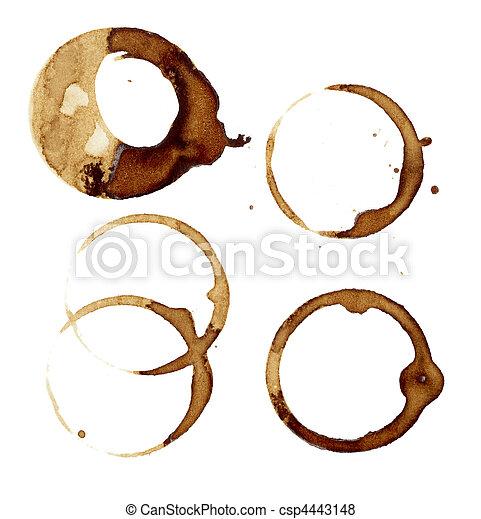 coffee stains group food beverage drink - csp4443148