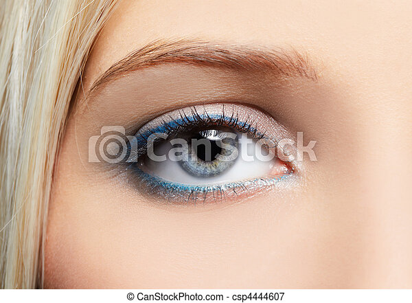 eye-zone make-up - csp4444607