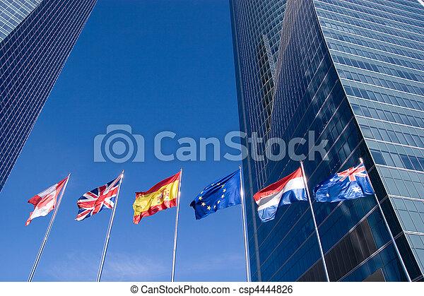 international, Flaggen - csp4444826