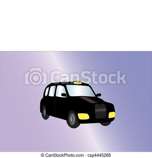 black cab - csp4445268