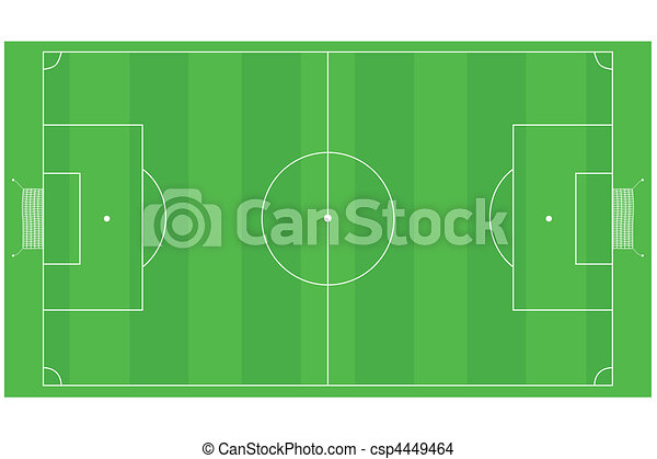 Football (Soccer) field - csp4449464