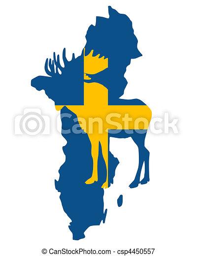 Swedish moose - csp4450557