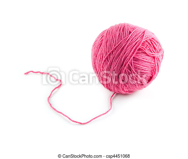 bola, lã - csp4451068