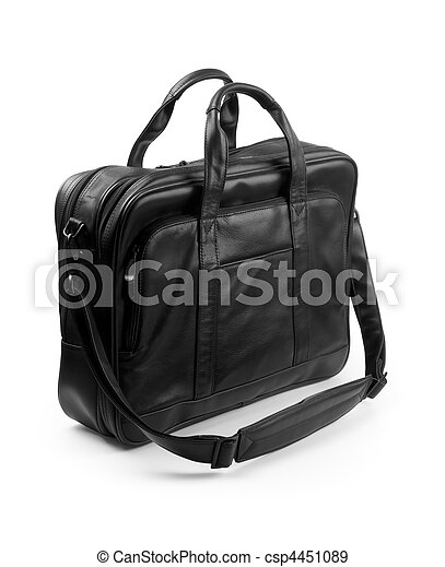 black briefcase - csp4451089