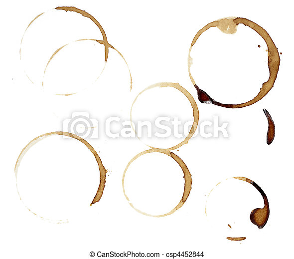 coffee stains group food beverage drink - csp4452844