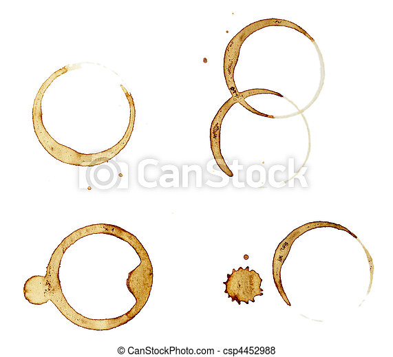 coffee stains group food beverage drink - csp4452988