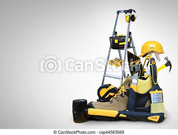 costruzione, attrezzi - csp44563569