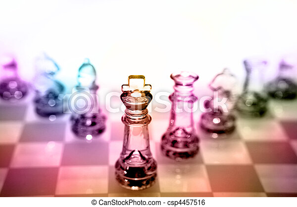 Chess pieces  - csp4457516