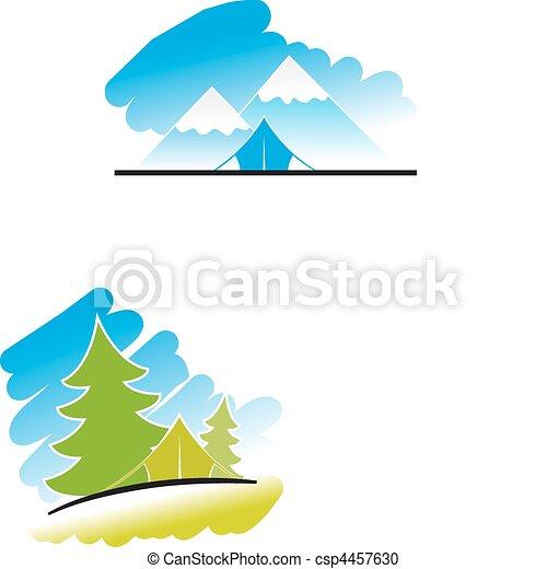 Travel symbols - csp4457630