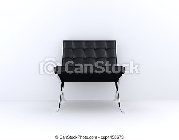 black chair - csp4458673