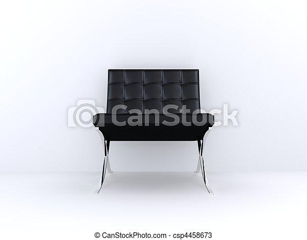 black chair - csp4458673