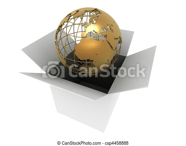 world in a box  - csp4458888