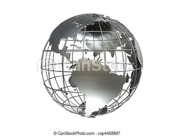 metal globe - csp4458897