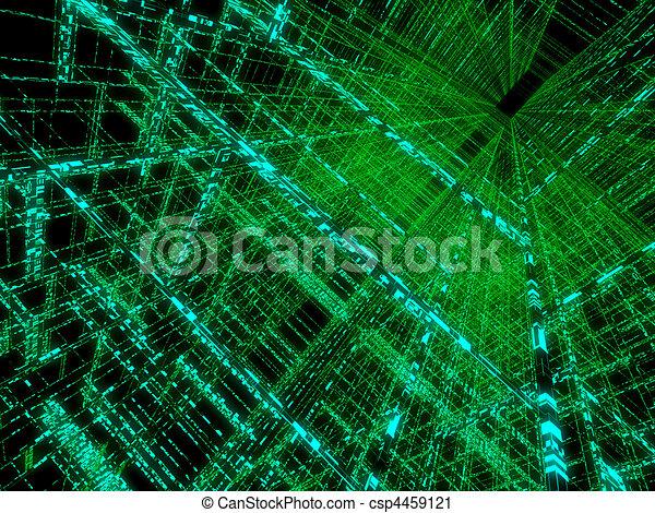 abstract matrix  - csp4459121