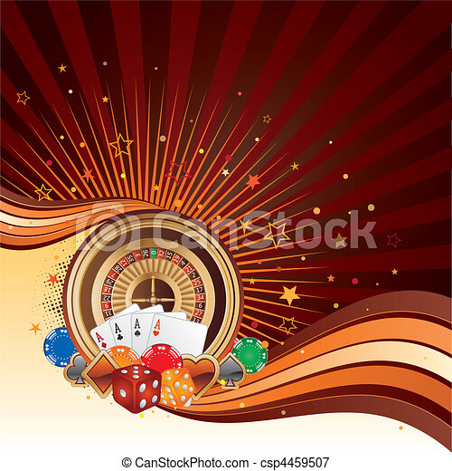 casino background - csp4459507